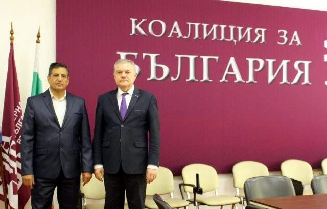 Румен Петков се срещна с председателя на българо-иракската общност у нас
