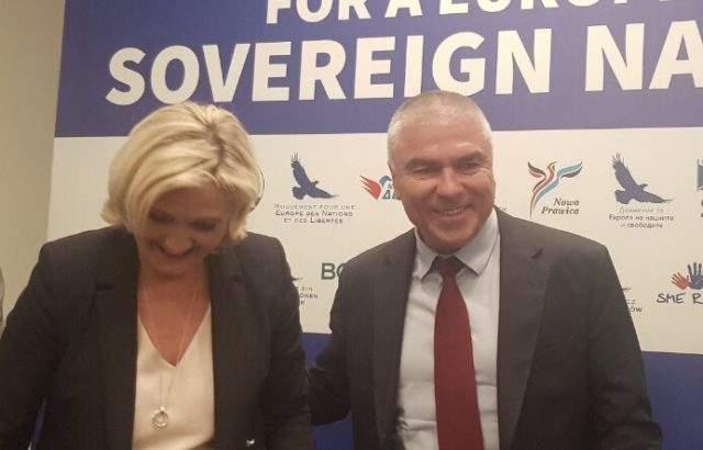 Веселин Марешки присъства на срещата на крайнодесните лидери