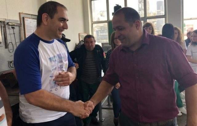 Младен Шишков се срещна с работници от рафинерия в Белозем