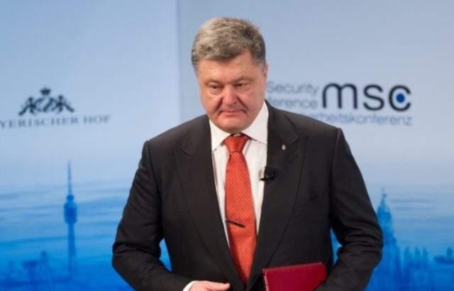 Разследват Порошенко за държавна измяна