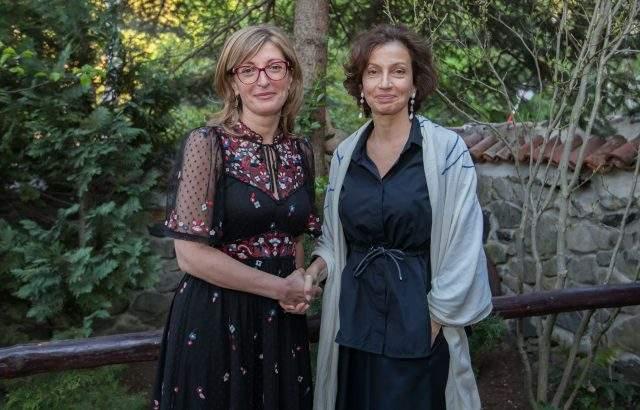 Екатерина Захариева и генералният директор на ЮНЕСКО обсъдиха двустранното сътрудничество