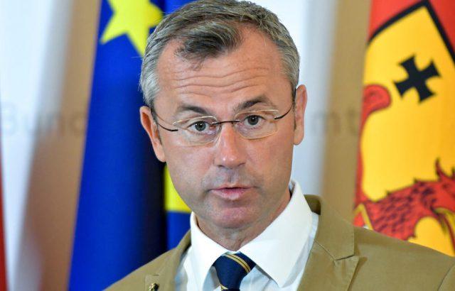 Министърът на транспорта Норберт Хофер оглави Партията на свободата