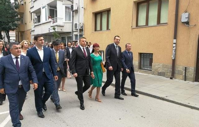 Кандидатът за евродепутат от ГЕРБ и СДС Андрей Новаков и ГЕРБ-Благоевград отбелязаха 24 май и празника на Благоевград