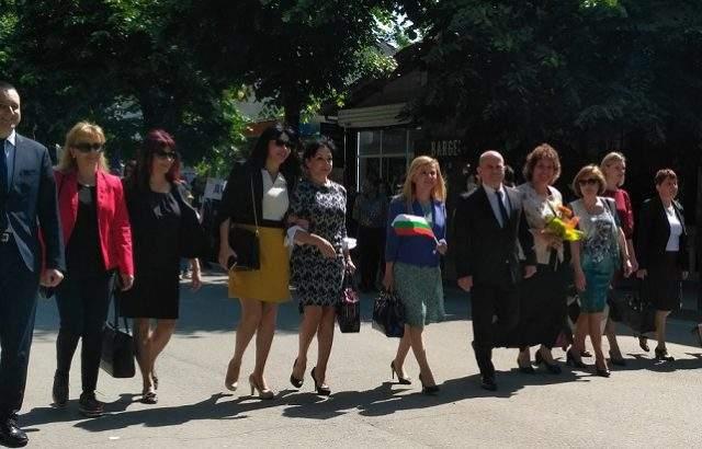 Депутътат Светлана Ангелова бе на честванията послучай 24 май в Русе