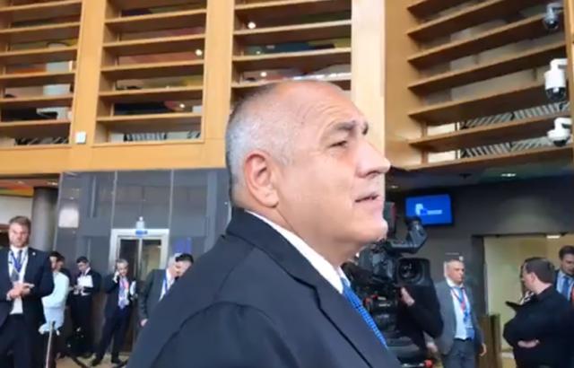 Бойко Борисов в Брюксел: И аз нямам доверие в приближените си