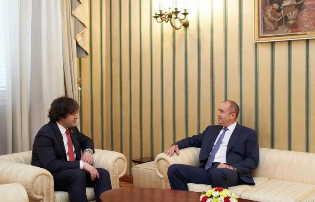 Президентът и председателят на грузинския парламент обсъдиха важни теми за Черноморския регион