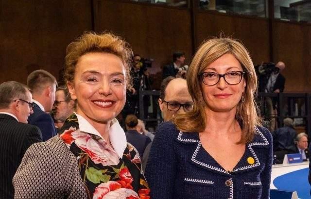 Екатерина Захариева поздрави вицепремиера на Хърватия за назначаването й за генерален секретар на Съвета на Европа