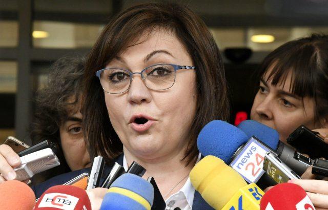 Нинова поиска премиерът Бойко Борисов да дойде в НС да обясни за F-16