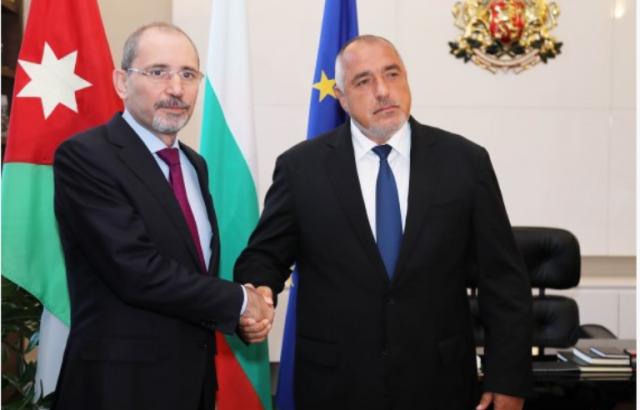 Борисов: Йордания е важен партньор на България в региона на Близкия Изток и Северна Африка