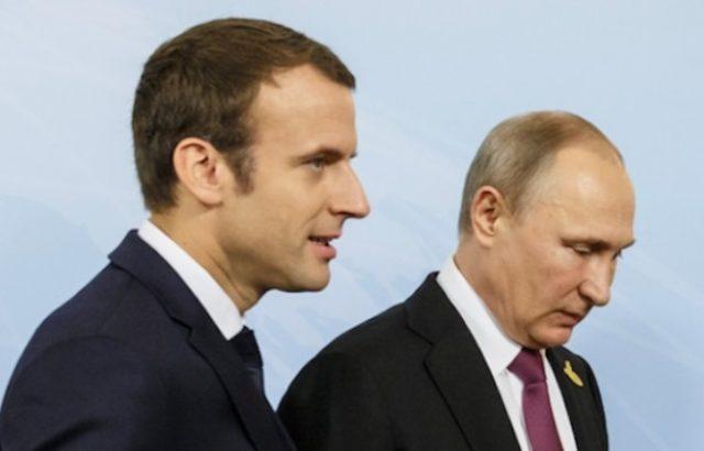 Макрон и Путин в Биариц ще обсъждат отношенията с Украйна