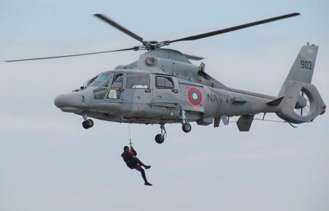 Вертолет Ми-17 се включи в гасенето на пожар
