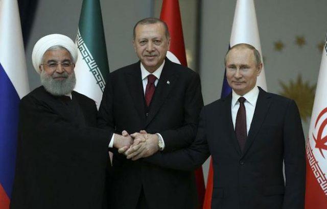 Путин, Ердоган и иранският президент решават съдбата на Сирия
