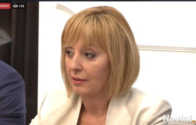 Мая Манолова ще вземе акценти от програмите на левите и десните партии в платформата си