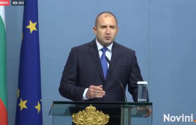 Президентът: Независима България означава справедливост