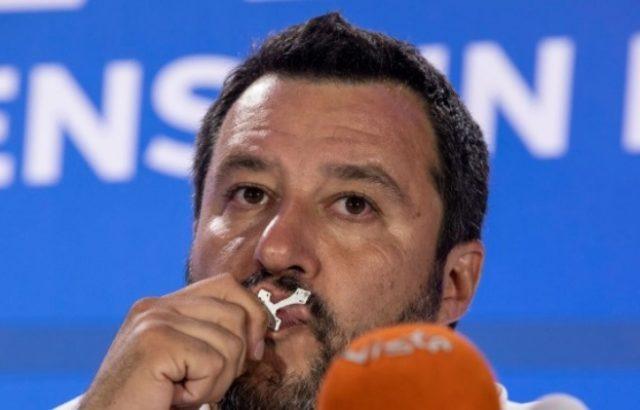 Салвини заплаши италианското правителство със серия от референдуми