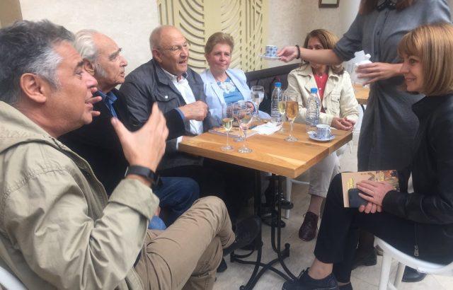 Фандъкова възроди Писателското кафене
