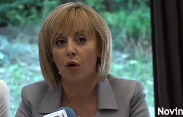 Мая Манолова: София е политически задръстена