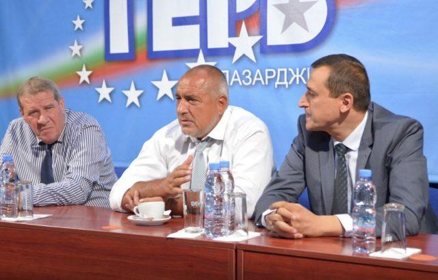 Борисов отиде след Пещера и в Пазарджик