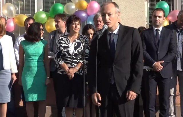 Министър Вълчев и Йорданка Фандъкова: Знанията ни правят свободни!