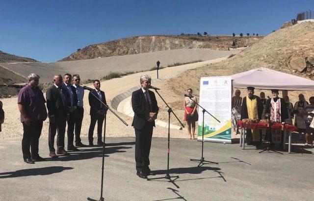 Нено Димов откри новата система за управление на отпадъците на регион Благоевград