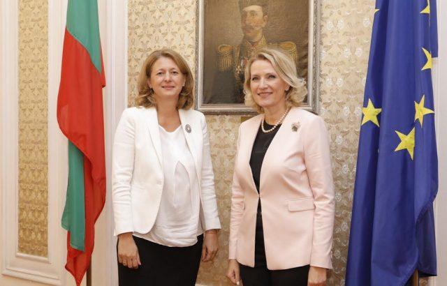Джема Грозданова: България е твърд привърженик на интеграцията на Албания в ЕС