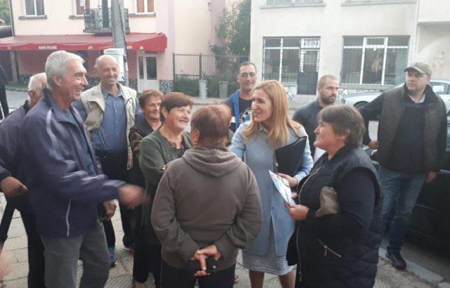 Николина Ангелкова обеща приоритетно развитие на инфраструктурата в малките села около Самоков