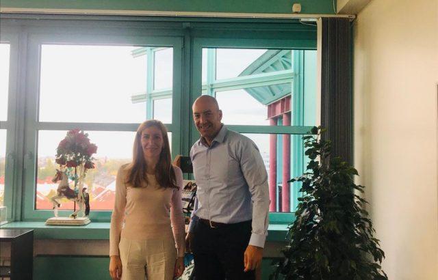Министър Ангелкова разговаря във Франкфурт с изпълнителния директор на DER Touristik за Централна Европа