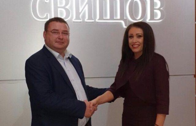 Депутатът от ГЕРБ Станислава Стоянова: Генчо Генчев е нашият кандидат за кмет на Свищов