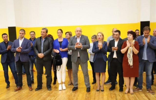 """Министър Красен Кралев откри обновеното крило на спортен комплекс """"Дружба"""" в Перник"""