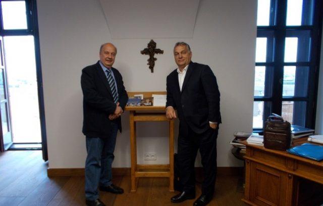 Депутатът от ГЕРБ Георги Марков се срещна с Виктор Орбан