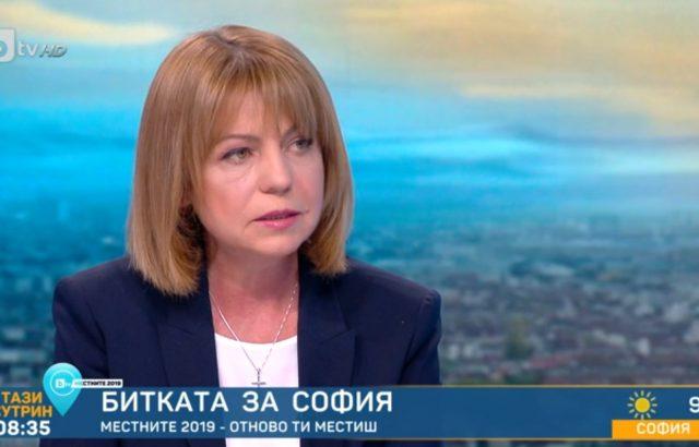 Сова Харис: Йорданка Фандъкова печели балотажа с близо 10% разлика пред Мая Манолова