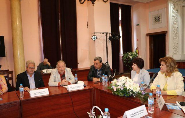 Кандидатът на ГЕРБ за Перник Вяра Церовска получи подкрепа от академичната общност