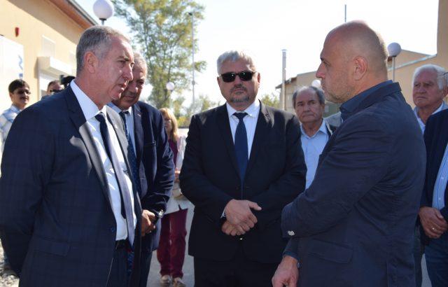 Огнян Ценков присъства на церемонията по откриване на Пречиствателната станция във Видин