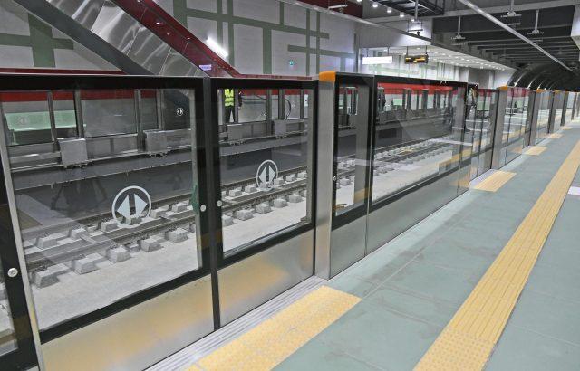 Показаха две станции от третата линия на метрото