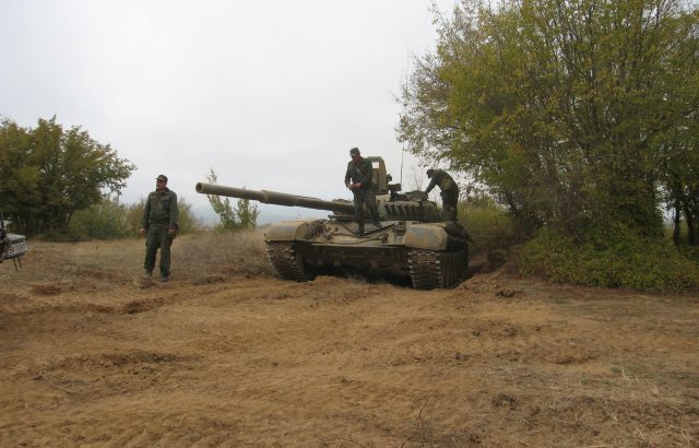 "В ""Ново село"" се провежда тактическо учение ""Стоманен щит-2019 г."""