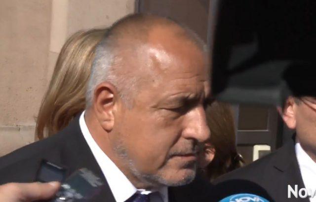 Борисов след среща с Румен Радев: Турция незабавно да спре операцията си в Сирия