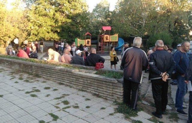 Кандидатът на ГЕРБ за кмет на община Сопот Георги Григоров се срещна с жители на града