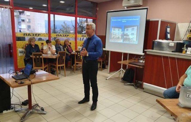 Сред приоритетите на Николай Зайче е обновяването на два от големите квартали на Пещера