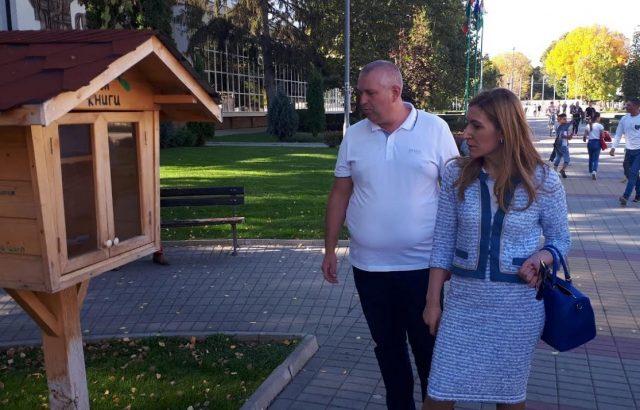 Ангелкова: Кандидатът на ГЕРБ за кмет на Ихтиман Калоян Илиев ще продължи амбициозната си програма