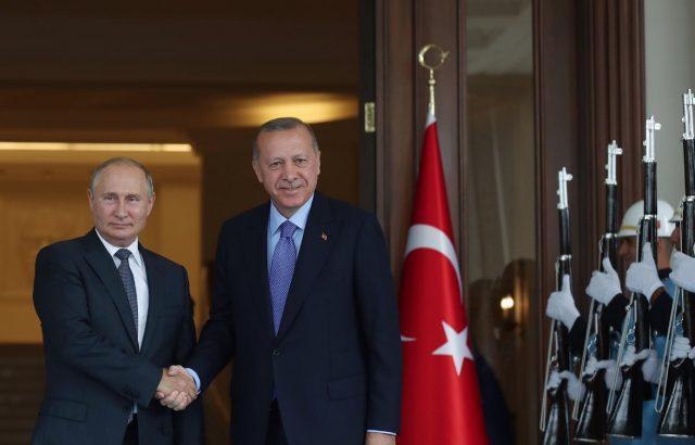 Вижте коя е основната тема, която ще обсъждат Путин и Ердоган