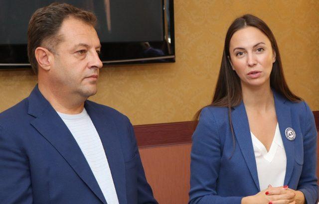 Даниел Панов и Ева Майдел на среща във Военния музей