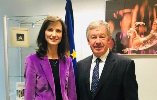 Мария Габриел се срещна с Майкъл Мърфи от Асоциацията на евроуниверситетите