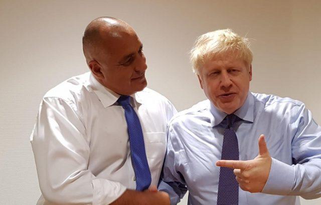 Борисов се срещна с Борис Джонсън