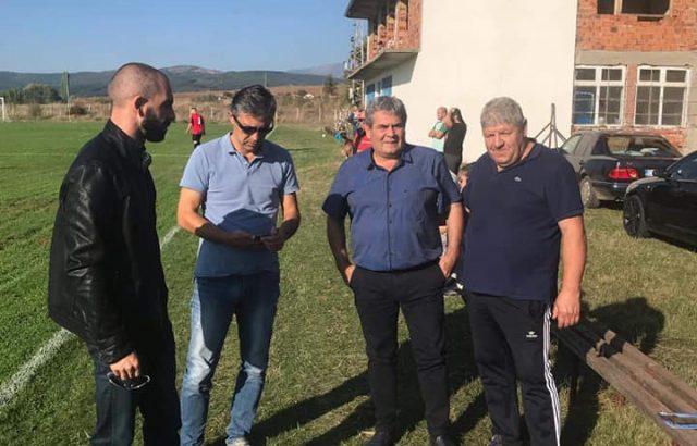 Пламен Алексиев присъства на мач от Областната футболна група Перник-Изток