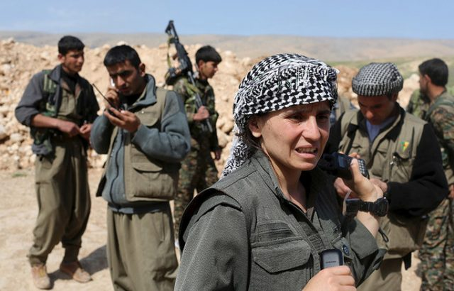 Кюрдите прогониха турската армия от сирийки град